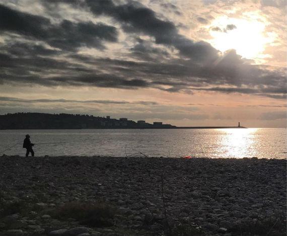 City Bar Fishing Sunset